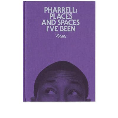Pharrell: Places & Spaces I've Been - Purple Cover