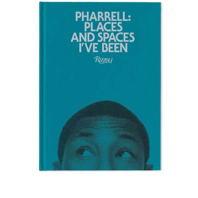 Pharrell: Places & Spaces I've Been - Green Cover
