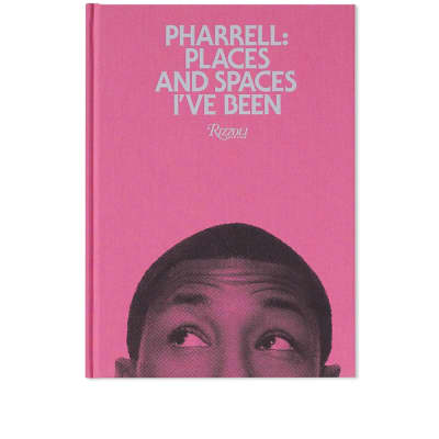 Pharrell: Places & Spaces I've Been - Pink Cover