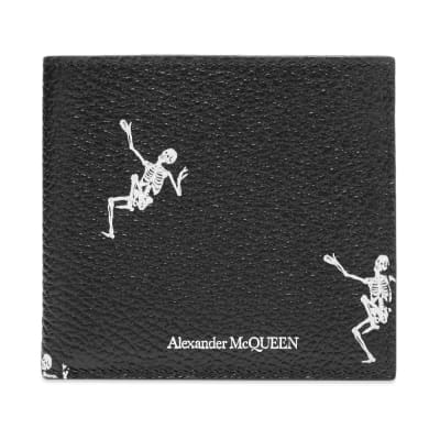Alexander McQueen Dancing Skeleton Billfold Wallet