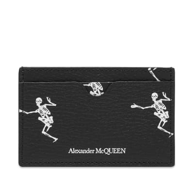 Alexander McQueen Dancing Skeleton Card Holder