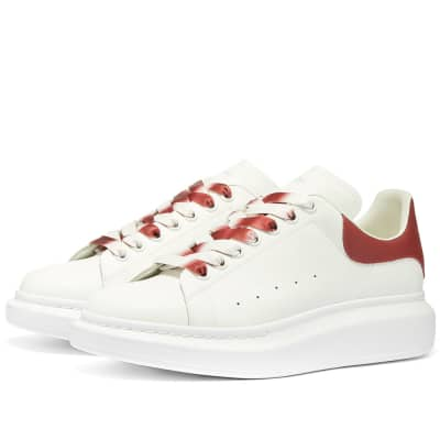 Alexander McQueen Degrade Wedge Sole Sneaker