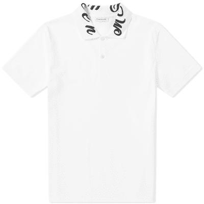 Alexander McQueen Gothic Collar Polo