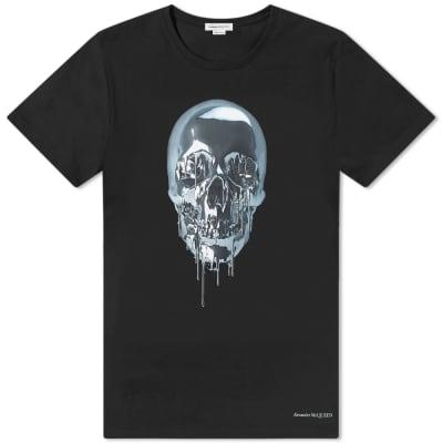 Alexander McQueen Metallic Skull Tee