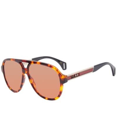 Gucci Sport Aviator Sunglasses
