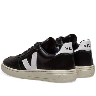 Veja V-10 Leather Basketball Sneaker