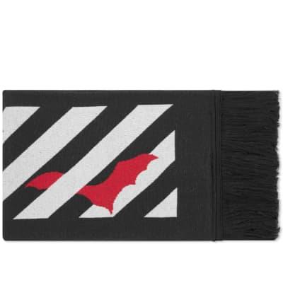 Off-White Bats Logo Scarf