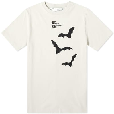 Off-White Bats Print Slim Tee