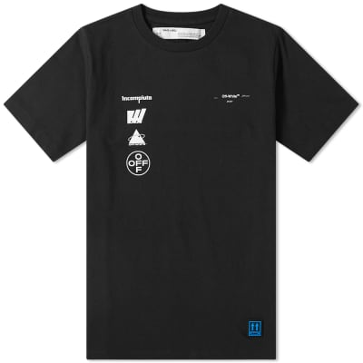 Off-White Mariana De Silva Painting Slim Tee