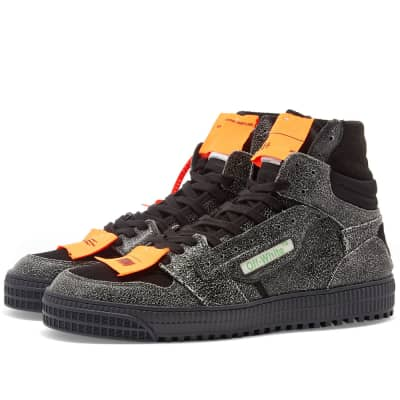 Off-White Off Court Leather Hi Sneaker