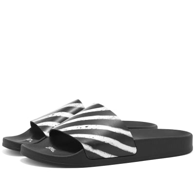 45ed95b7283 Off-White Spray Stripe Slide