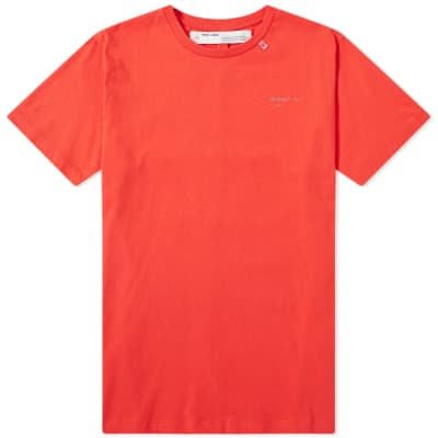 Off-White Unfinished 3M Arrows Slim Tee