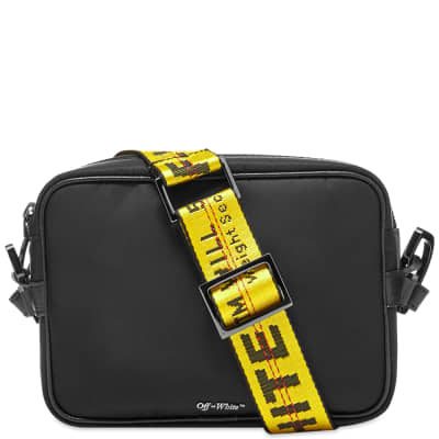 Off-White Cross-Body Industrial Bag