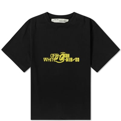 Off-White Halftone Oversized Tee