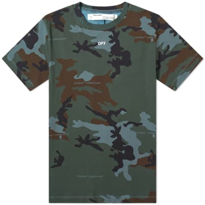 Off-White Incompiuto Camo Arrows Tee