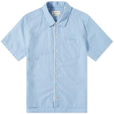 Oliver Spencer Linen Hawaiian Shirt