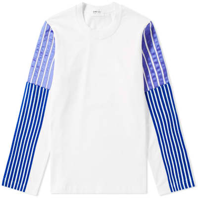 DIMA LEU Long Sleeve Jersey Stripe Tee