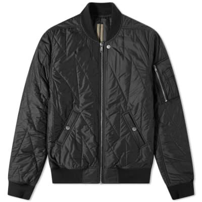 Rick Owens DRKSHDW Nylon Quilted Flight Jacket