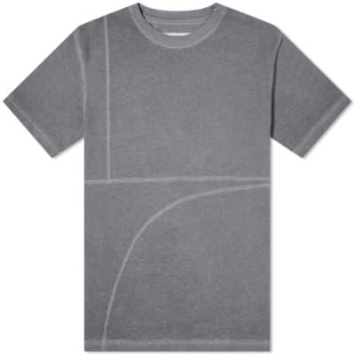 A-COLD-WALL* Overlock Mesh Logo Tee