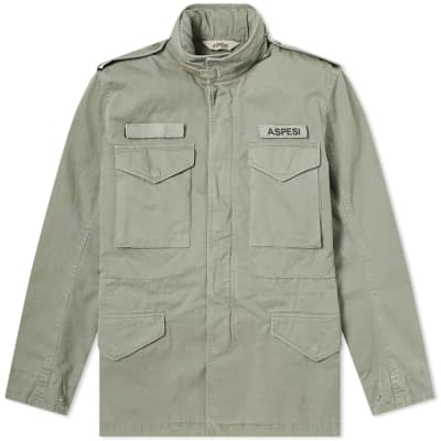 Aspesi M65 Logo Military Field Jacket
