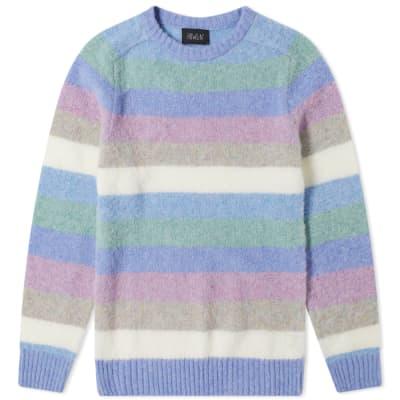 Howlin' Wool Digger Stripe Crew Knit
