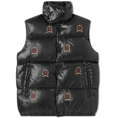 Hilfiger Collection Embroidered Crest Down Gilet