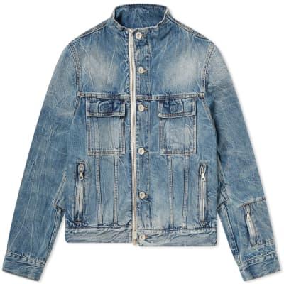 Unravel Project Denim Zip Jacket