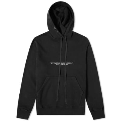 Unravel Project Fuck Lines Hoody