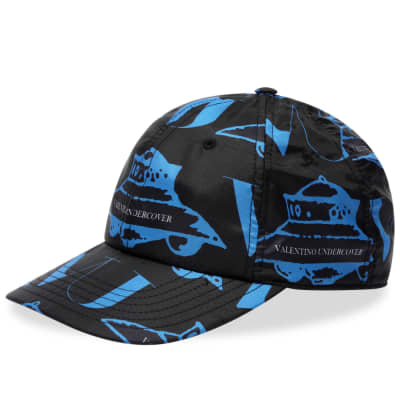 Valentino x Undercover All Over UFO Print Nylon Cap