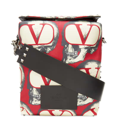 Valentino x Undercover Repeat Skull Print Cross Body Bag