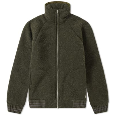 Nigel Cabourn x Peak Performance Wool Fleece Zip Jacket