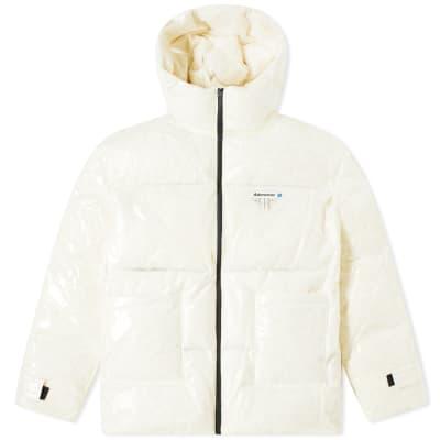 ADER error Transparent Duck Down Jacket