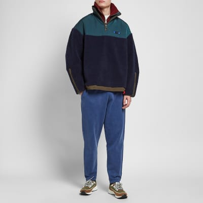 ADER error Oversized Half Zip Fleece