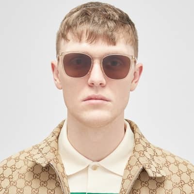 Gucci Ultra Light Acetate Sunglasses
