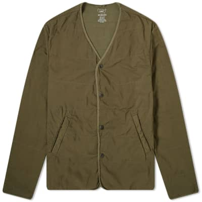 Save Khaki Quilted Liner Jacket