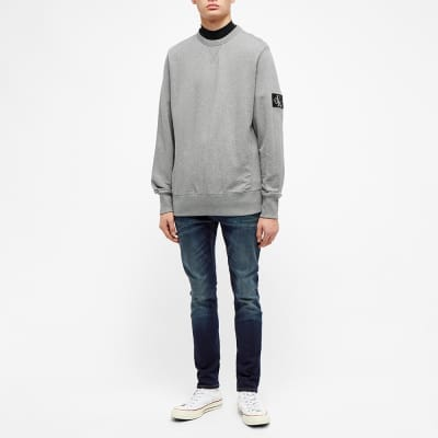 Calvin Klein Monogram Sleeve Badge Sweat