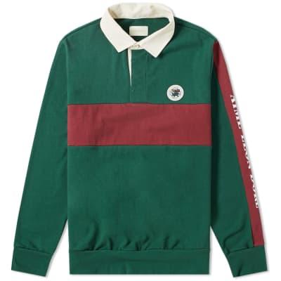 Aimé Leon Dore Sleeve Logo Rugby Shirt