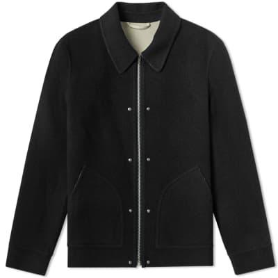 Helmut Lang Logo Wool Jacket