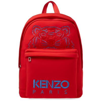 Kenzo Neoprene Tiger Backpack