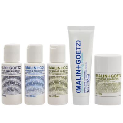 Malin + Goetz Grooming Kit - Pack of 5
