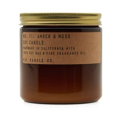 P.F. Candle Co No.11 Amber & Moss Large Soy Candle