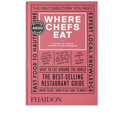 Where Chefs Eat (Third Edition)