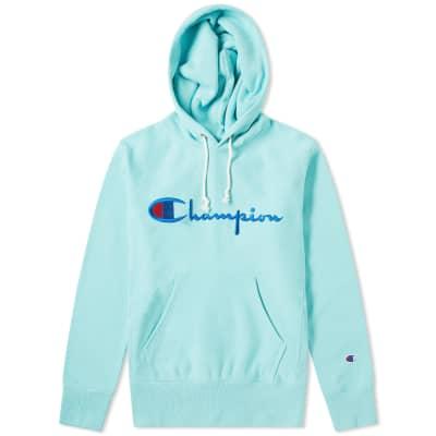 Champion Reverse Weave Script Logo Hoody
