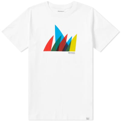 Norse Projects Niels Spinnaker Logo Tee