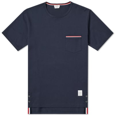 Thom Browne Medium Weight Jersey Pocket Tee