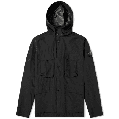 Stone Island Goretex Paclite Packable 4 Pocket Hooded Parka