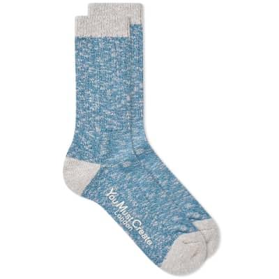 YMC Marl Boot Sock