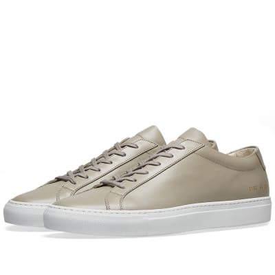 Common Projects Original Achilles Low White Sole