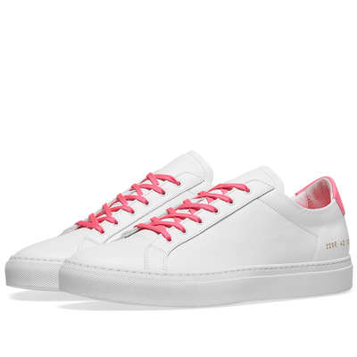 Common Projects Retro Low Fluro