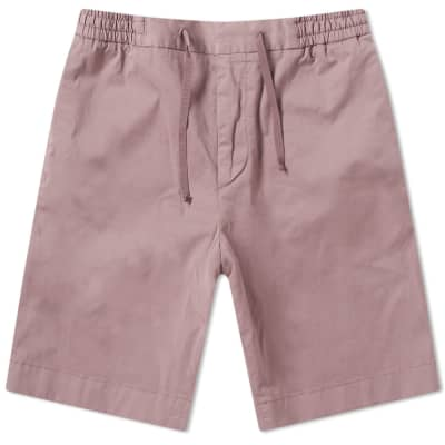 Officine Generale Garment Dyed Phil Drawstring Short